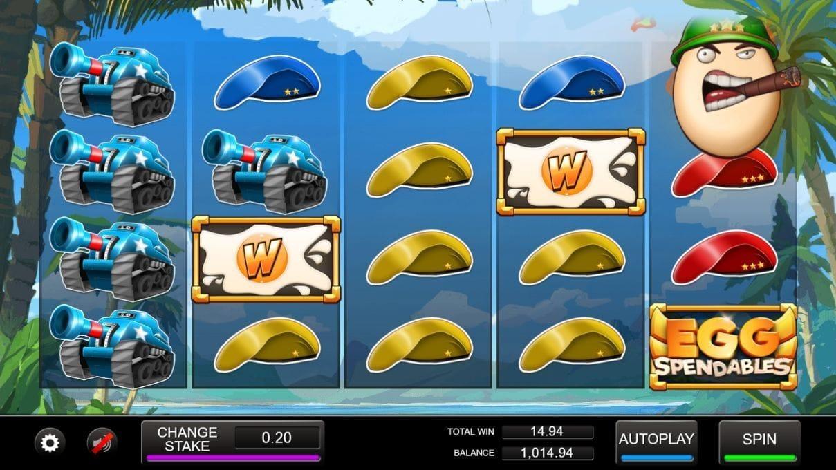 Eggspendables Slot Online