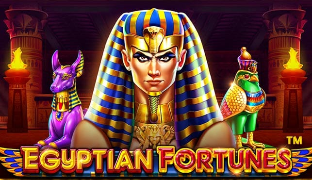 Egyptian Fortunes slot game Logo