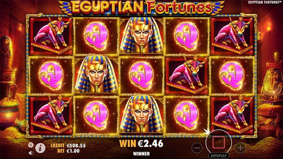 Egyptian Fortunes slot games