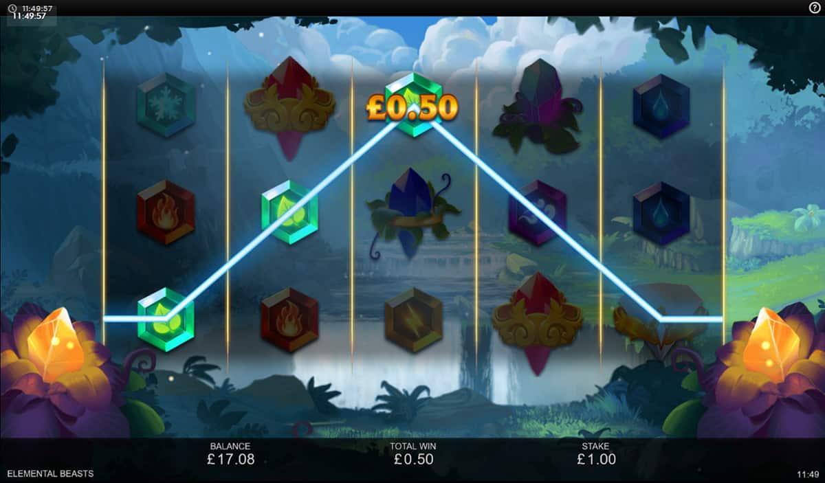 Elemental Beasts Slot Gameplay