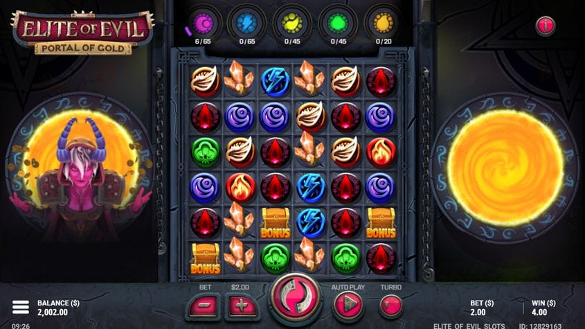 Elite of Evil Portal of Gold Slot Game