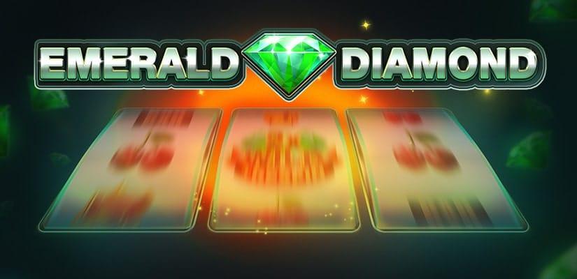 Emerald Diamond Slot Game Logo