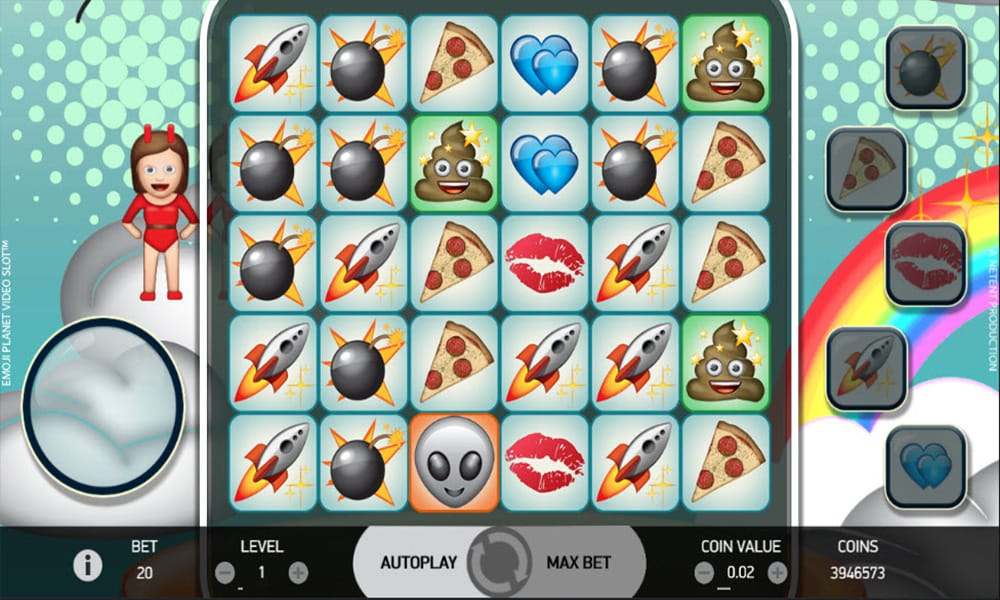 Emoji Planet Slot Game