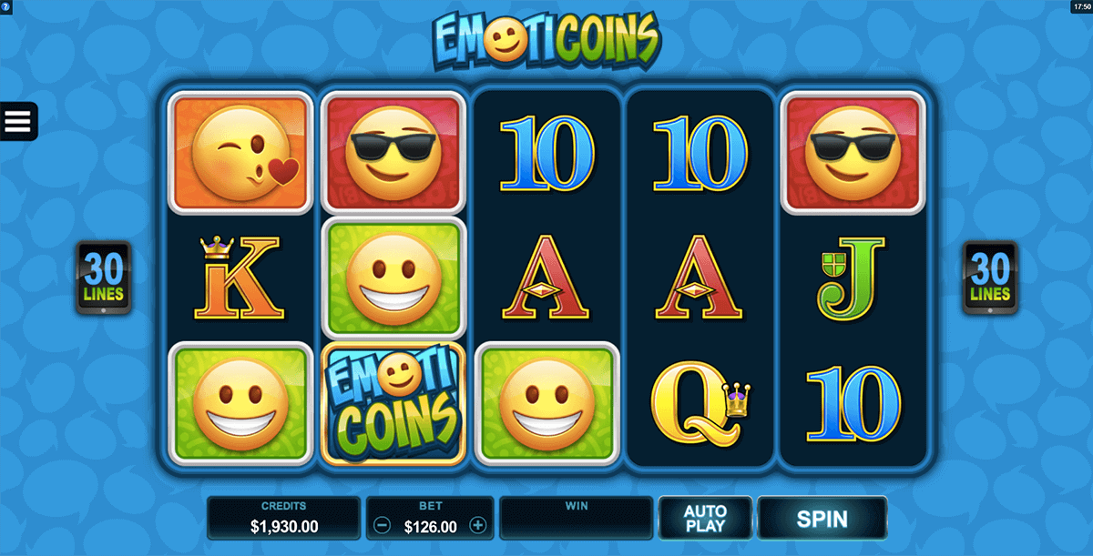 EmotiCoins Slots Game