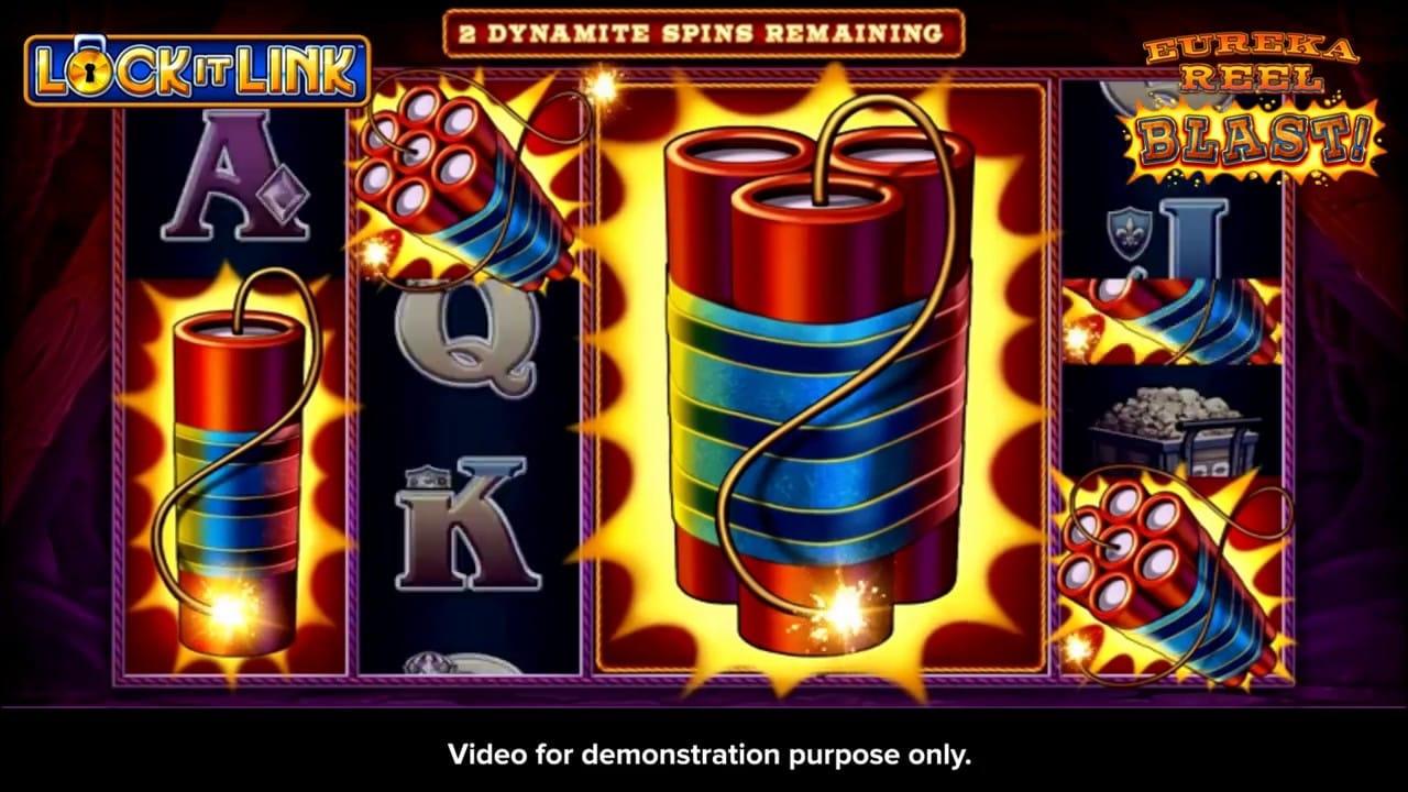Eureka Reel Blast Slots Game