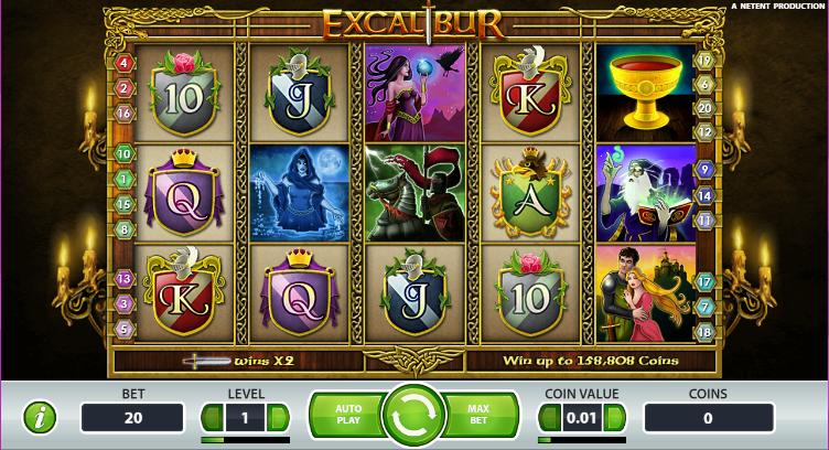 Excalibur Gameplay