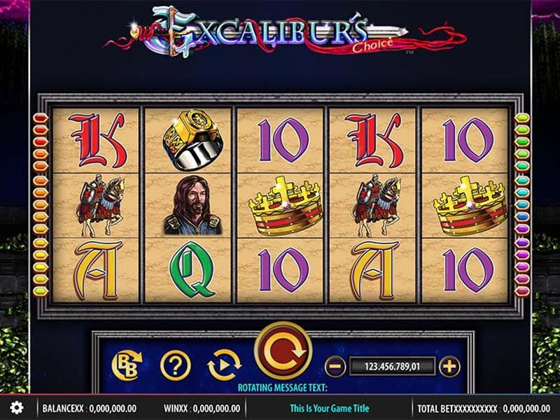 Excalibur's Choice Slots UK