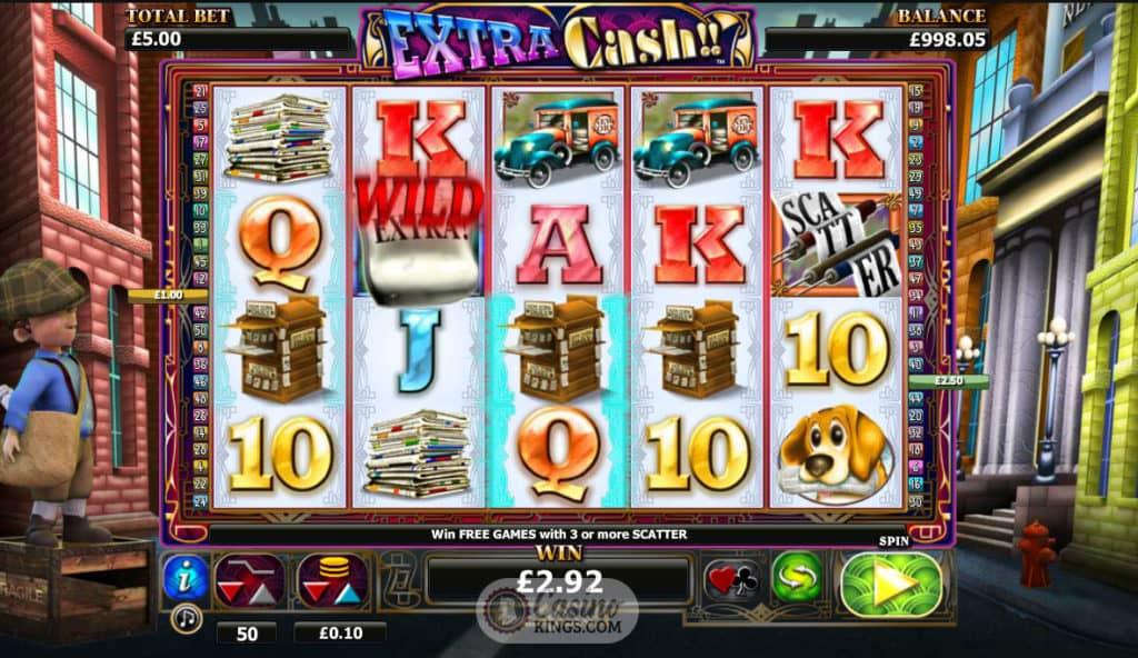 extra cash!! slot online casino