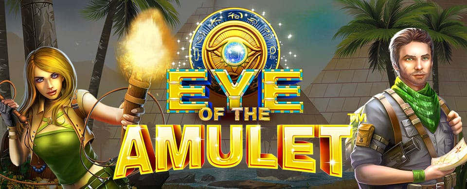 Eye of the Amulet Slot Banner