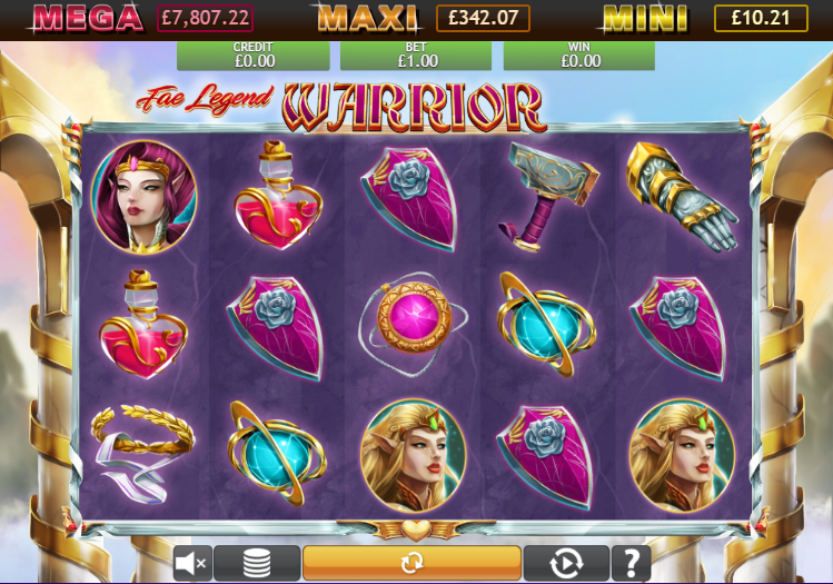 Fae Legend Warrior Jackpot Gameplay
