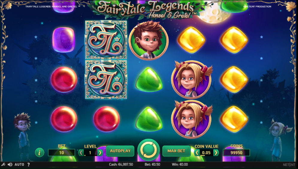 Fairytale Legends: Hansel and Gretel Slot UK