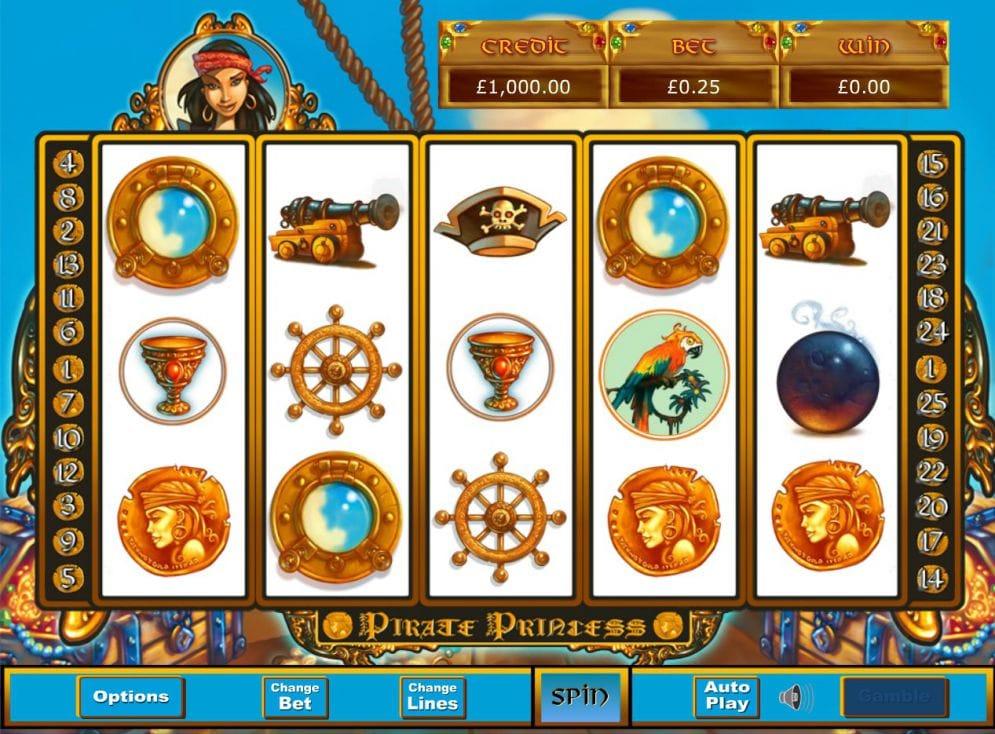 pirate princess game play casino
