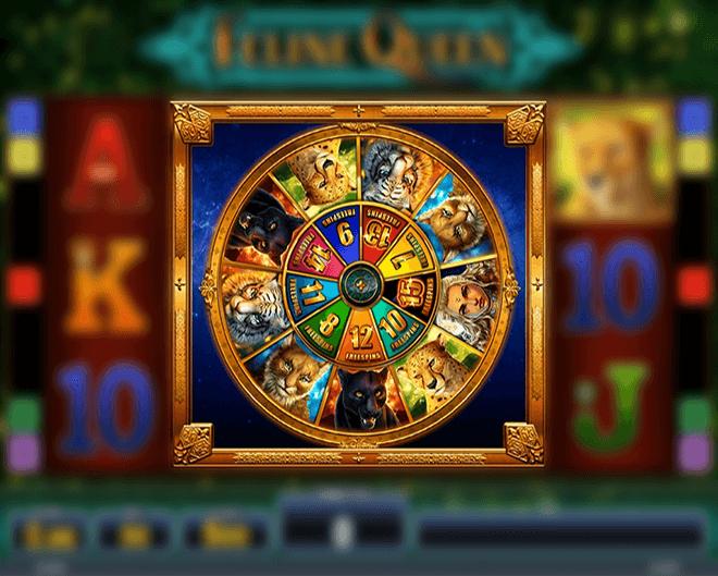 Feline Queen Slot Wheel