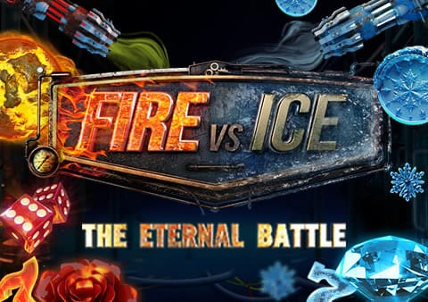 Fire Vs Ice Slot Banner