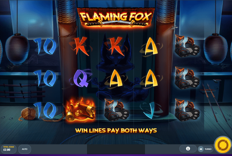 Flaming Fox Gameplay