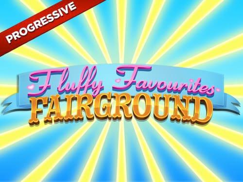 fluffy favourites fairground slot UK Logo