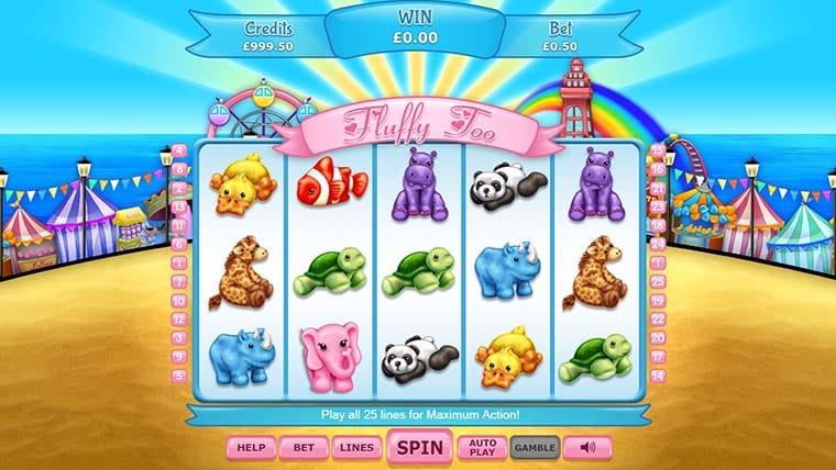 Fluffy Too Slot UK