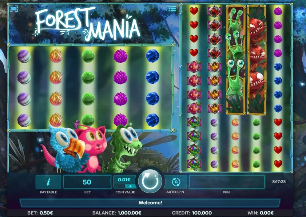 forest mania slot casino game