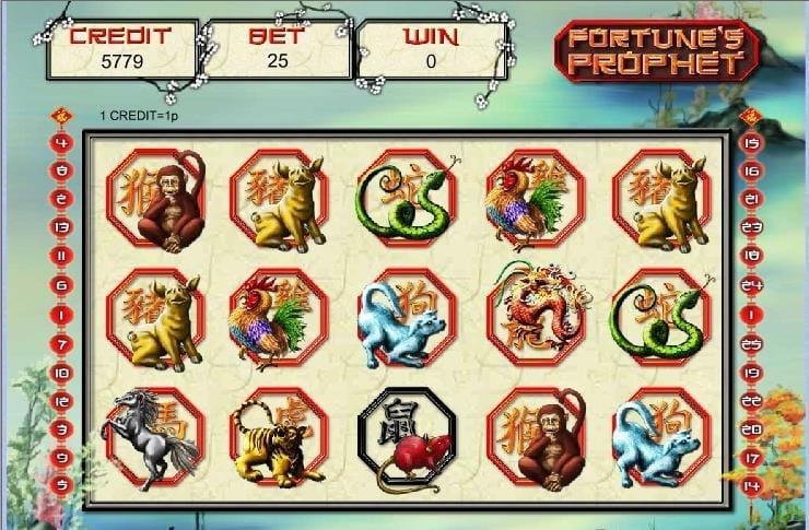fortunes prophet slot gameplay