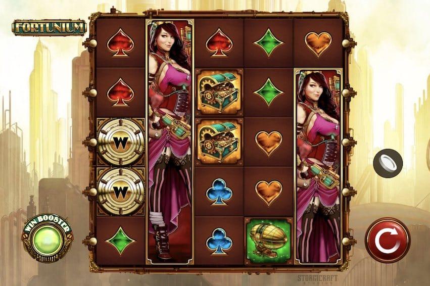 Fortunium Slot Gameplay