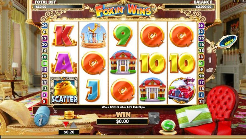 Foxin' Wins Slots Uk