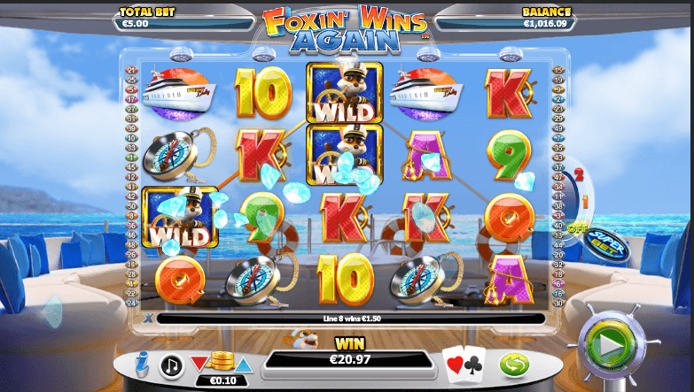 Foxin' Wins Again Slots Online