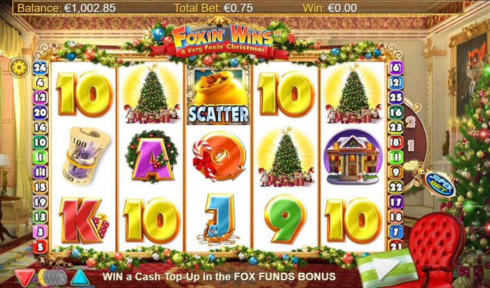 Foxin' Wins Christmas Free Slots