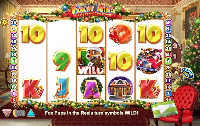 Foxin' Wins Christmas Slots Game