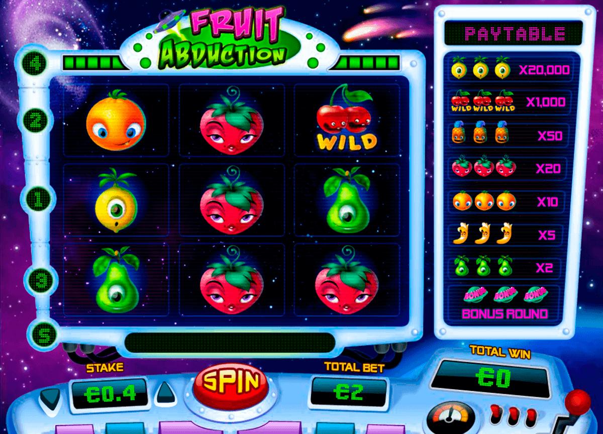 Fruit Abduction Slot Gameplay
