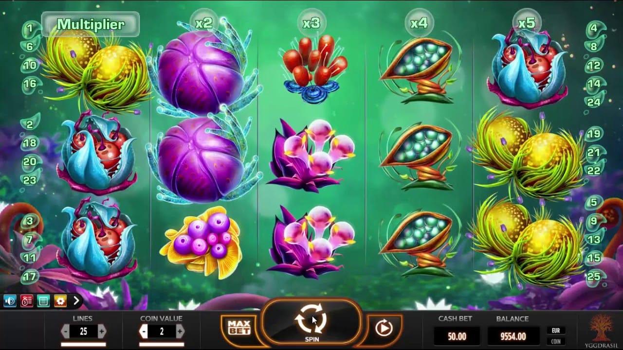 Fruitoids Slot Mega Reel Slot
