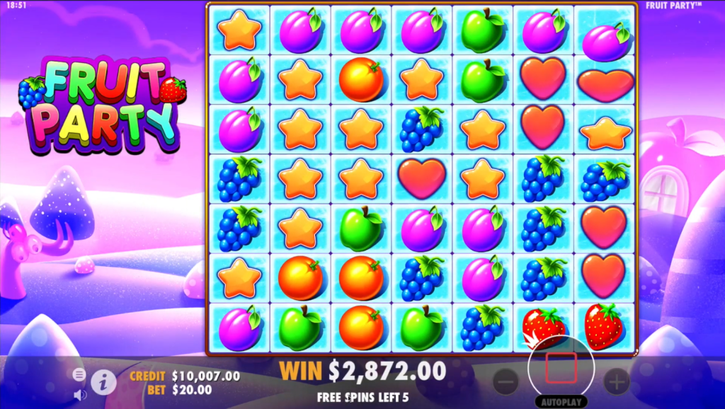 Fruit Party Slots Online