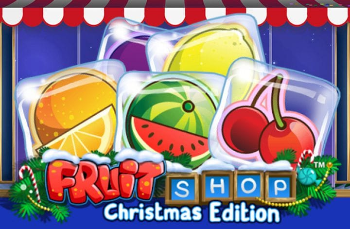 Fruit Shop Christmas Logo