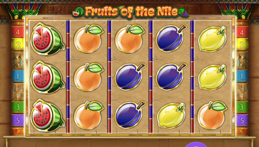 Fruits of the Nile Slot Mega Reel Casino Game