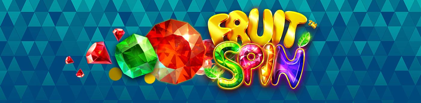 Fruit Spin Slot Mega Reel Banner