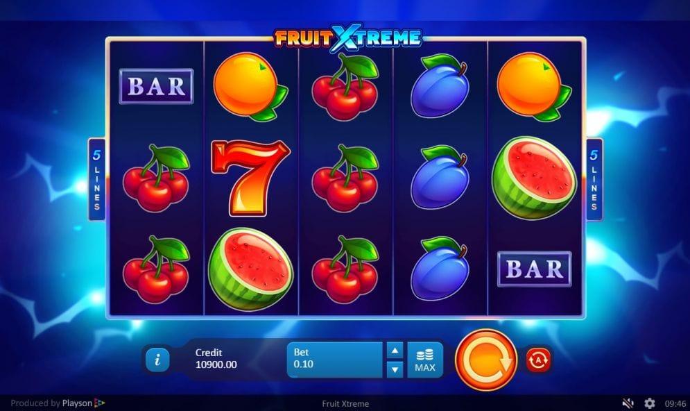 Fruit Xtreme: 5 Lines Slot Machine