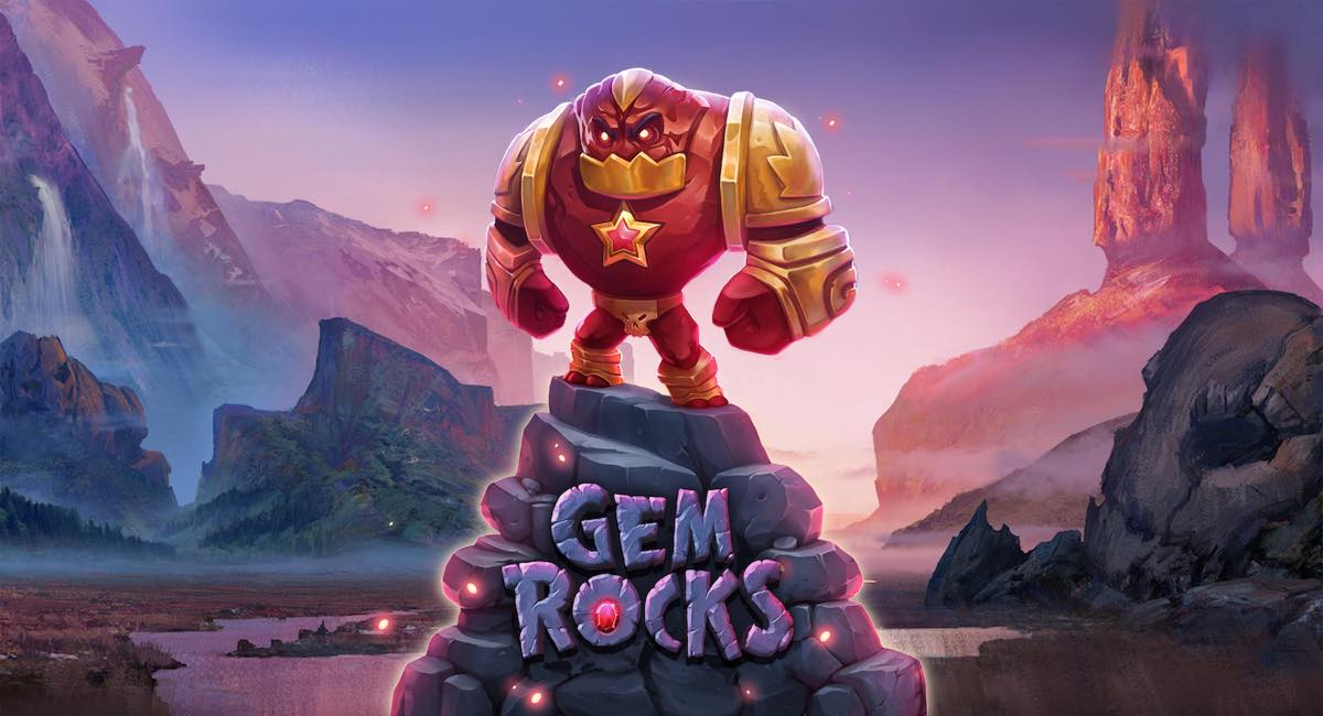 Gem Rocks Slots Logo