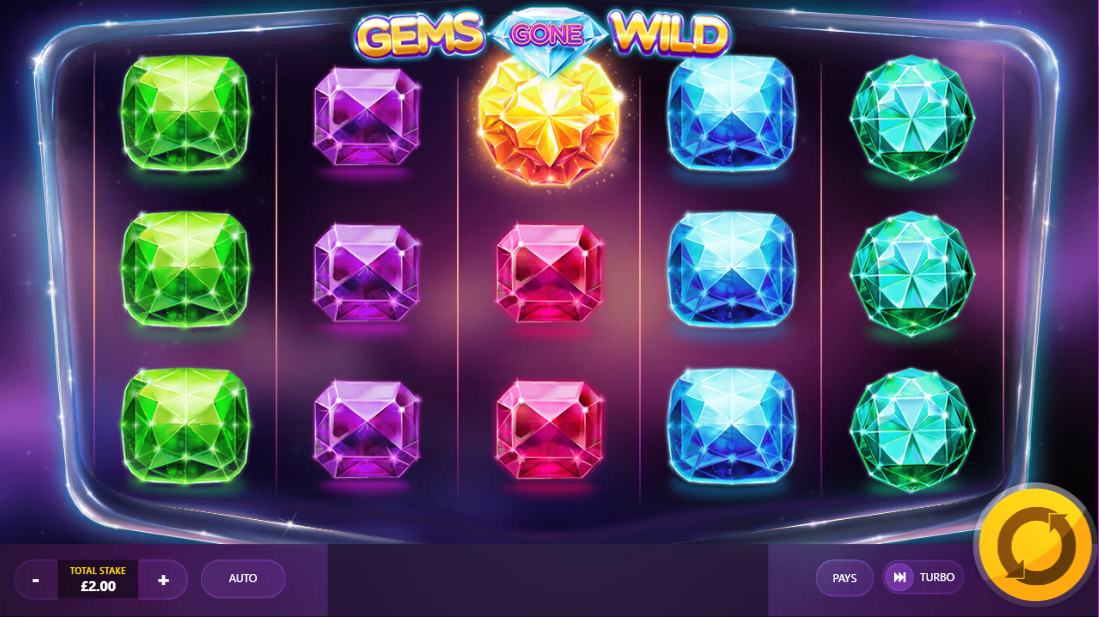 Gems Gone Wild Gameplay