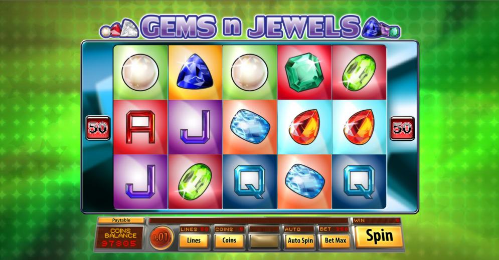 Gems n Jewels Slot Gameplay