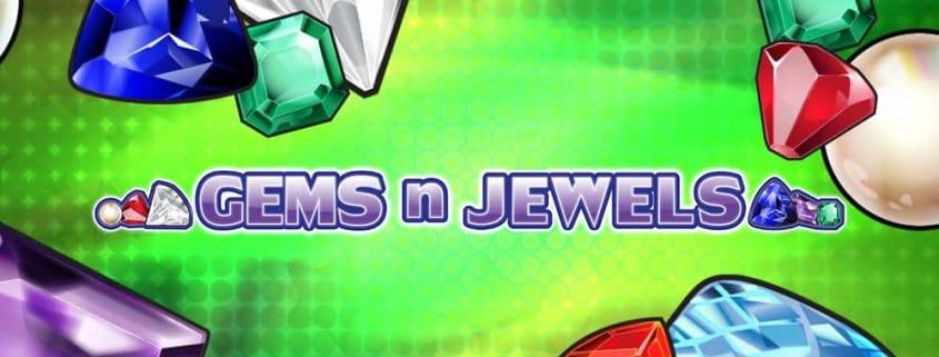 Gems n Jewels Slot Banner