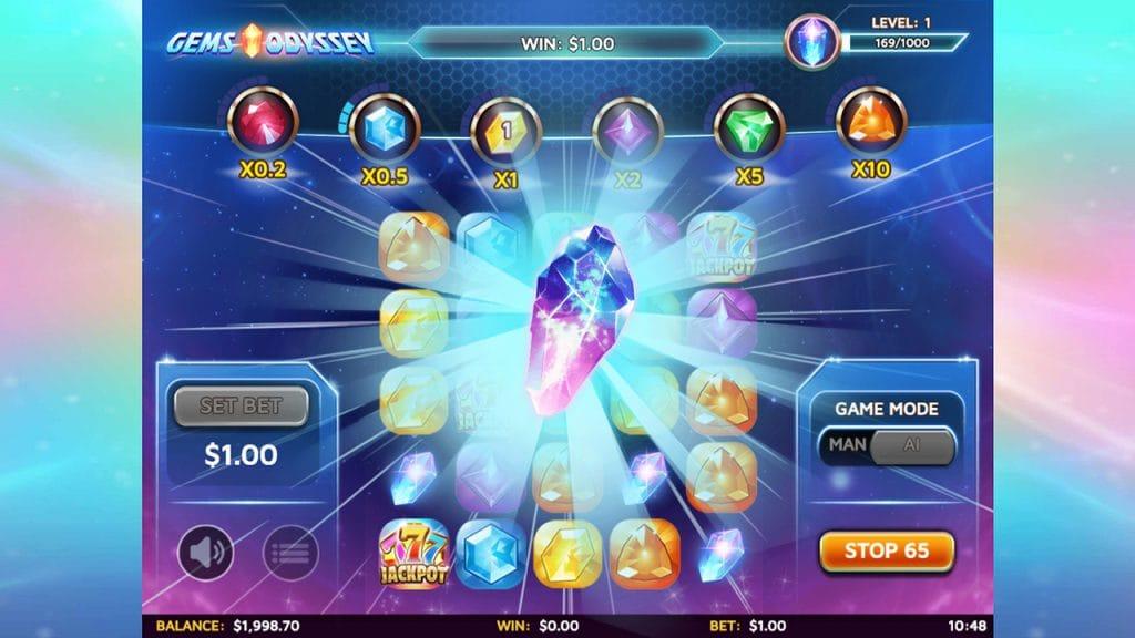 Gems Odyssey Slot Mega Reel