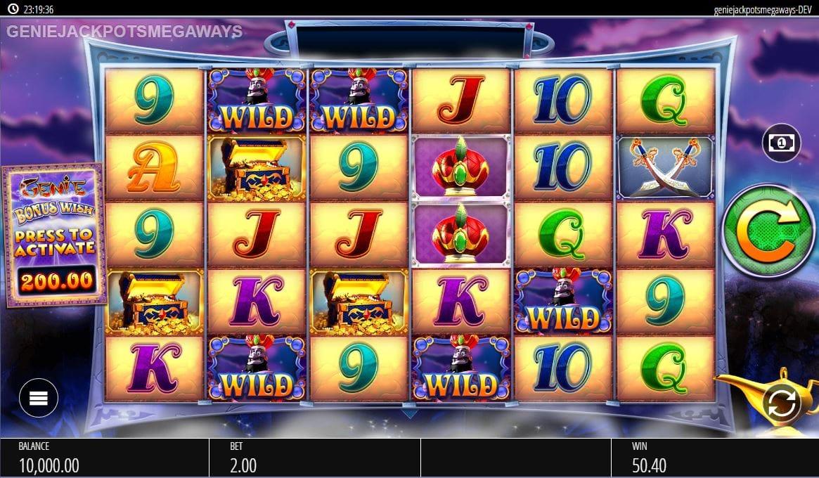 Genie Jackpots Megaways Slot