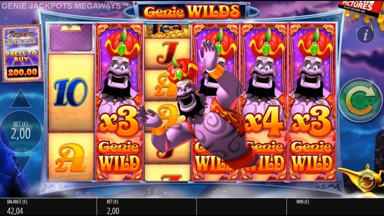 Genie Jackpots Megaways Game