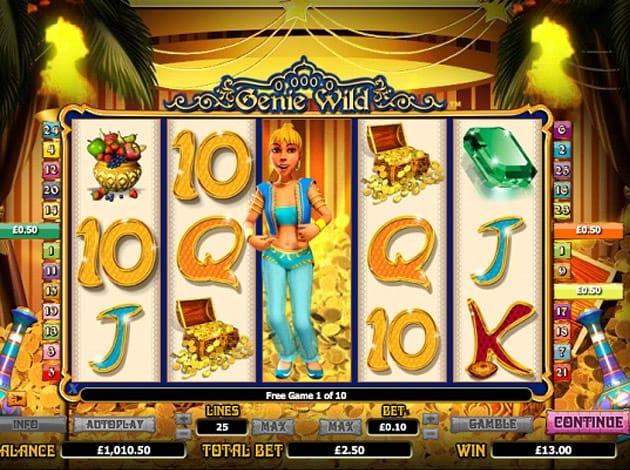 Genie Wild Slot Game