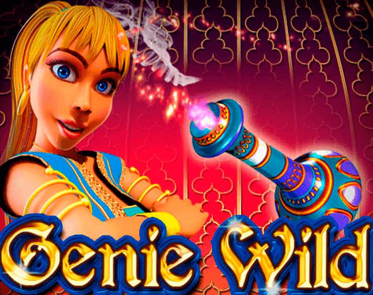 Genie Wild Slot Banner