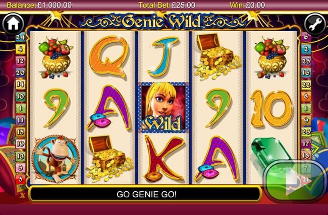 Genie Wild Slot Gameplay