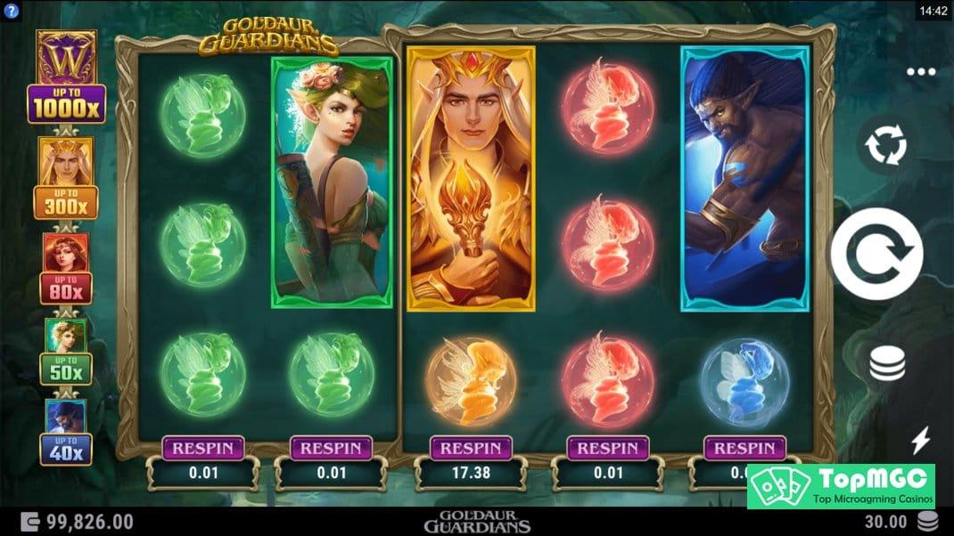 Goldaur Guardians Slot Online