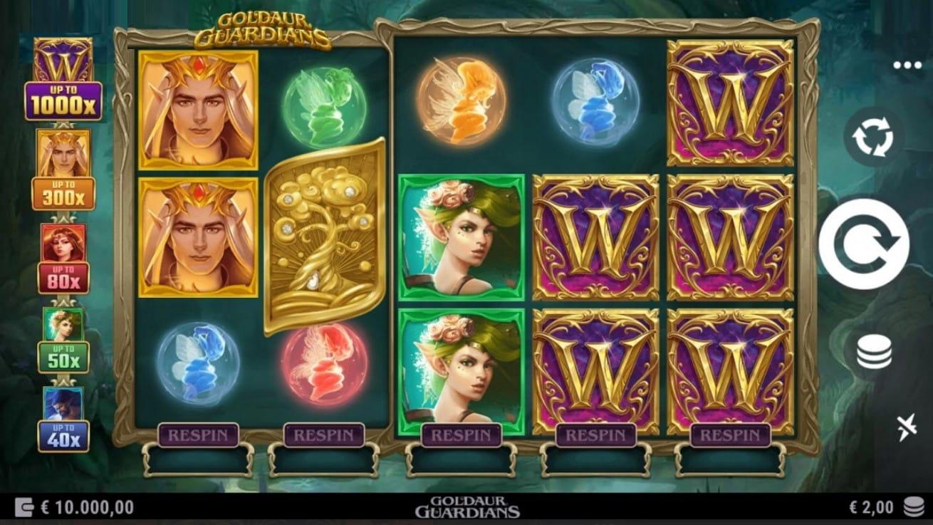 Goldaur Guardians Slot Gameplay