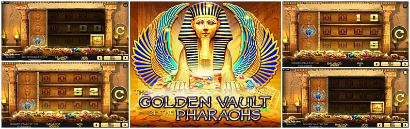 Golden Vault of the Pharaohs Slots Mega Reel