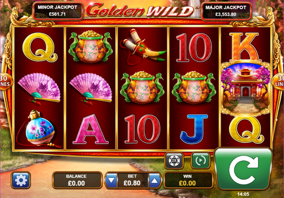 Golden Wild Gameplay