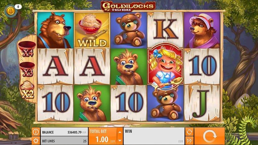 Goldilocks Slot Gameplay Mega Reel